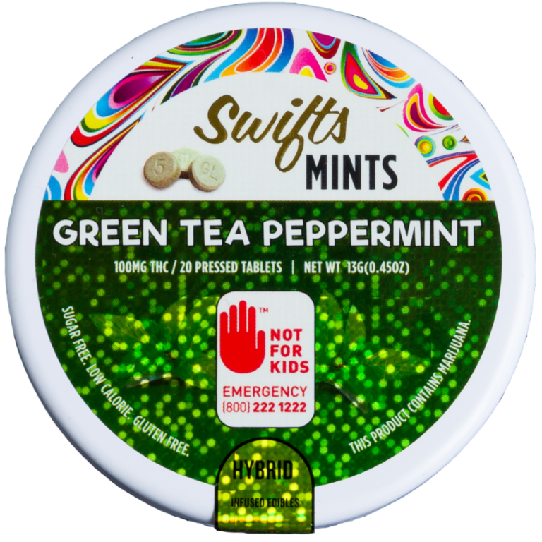 Swifts THC Green Tea Mints